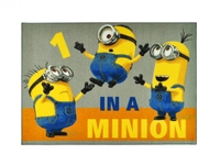 KIDS Barnmatta 95x133 1-In-A-Minion Minioner