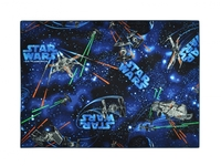 KIDS Barnmatta 95x133 Space Star Wars