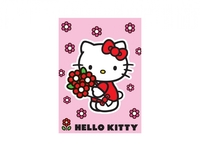 KIDS Matta 95x133 Bukett Hello Kitty