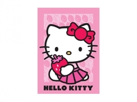 KIDS Matta 95x133 Jordgubbe Hello Kitty