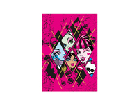 KIDS Matta 95x133 Romb Monster High